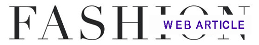 Fashion Web Article